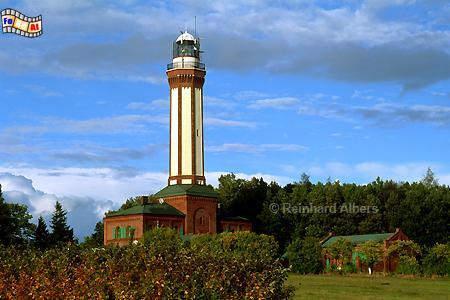 Polen - Niechorze (Groß-Horst)., Leuchtturm, Polen, Pommern, Ostseeküste, Niechorze, Groß-Horst, Albers, Foto, foreal