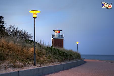 Wyk auf der Insel Föhr, Leuchtturm, Nordseeküste, Föhr, Wyk, Albers, Foto, foreal,