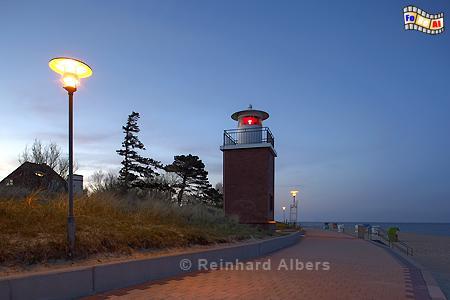 Leuchtturm in Wyk auf Föhr., Leuchtturm, Nordseeküste, Föhr, Wyk, Albers, Foto, foreal,