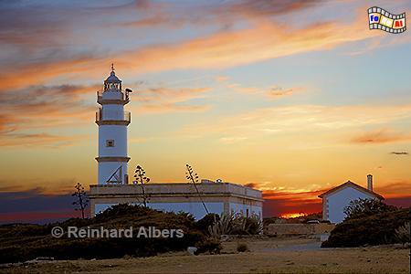 Mallorca - Cap Ses Salines, Leuchtturm, Lighthouse, Phare, Far, Mallorca, Cap, Salines, Foto, Albers, foreal,