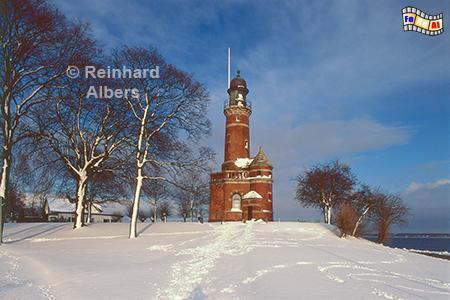 Kiel-Holtenau im Winter., Leuchtturm, Deutschland, Schleswig-Holstein, Ostseeküste, Kiel, Holtenau, Albers, Foto, foreal,