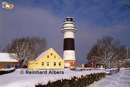 Winter am Leuchtturm von Kiel-Bülk, Leuchtturm, Deutschland, Schleswig-Holstein, Ostseeküste, Kiel, Bülk, Albers, Foto, foreal,