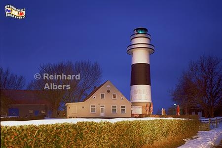 Blaue Stunde am Leuchtturm Kiel-Bülk, Leuchtturm, Schleswig-Holstein, Kiel, Bülk, Albers, Foto, foreal,