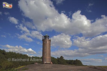 St. Peter-Ording, Ortsteil Böhl auf der Halbinsel Eiderstedt., Leuchtturm, Phare, Lighthouse, Nordseeküste, St. Peter, Böhl, Ording, Albers, Foto, foreal,