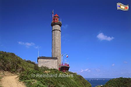 Phare du Portzic bei Brest in der Bretagne., Leuchtturm, Frankreich, Bretagne, Brest, Portzic, Albers, Foto, foreal,