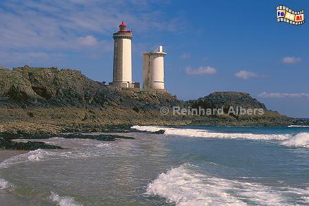 Le Petit Minou in der Bucht von Brest in der Bretagne., Leuchtturm, Frankreich, Bretagne, Brest, Le Petit Minou, Albers, Foto, foreal,