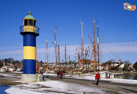 Eckernförde, alter Leuchtturm außer Dienst, Leuchtturm, Schleswig-Holstein, Eckernförde, Ostsee, Albers, Foto, foreal,