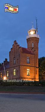 Polen - Ustka (Stolpmünde) an der Mündung der Słupia (Stolpe) in die Ostsee., Leuchtturm, Polen, Pommern, Ostseeküste, Ustka, Stolpmünde