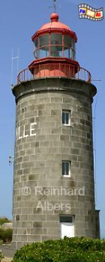 Granville in der Normandie, Leuchtturm, Frankreich, Normandie, Granville