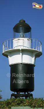 Der Kesselturm vor dem Wasser- und Schifffahrtsamt in Cuxhaven bildete früher das Leuchttfeuer Osteriff-Buhne., Leuchtturm, Deutschland, Cuxhaven