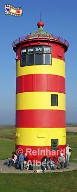 Pilsum in Ostfriesland., Leuchtturm, Deutschland, Niedersachsen, Pilsum