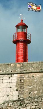 Sesimbra südlich von Lissabon - Portugal, Leuchtturm, Portugal, Sesimbra