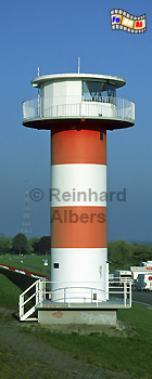 Grünendeich (Lühe) an der Elbe, Leuchtturm, Deutschland, Niedersachsen, Altes Land, Elbe, Lühe, Grünendeich