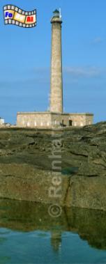 Gatteville in der Normandie, Leuchtturm, Frankreich, Normandie, Gatteville