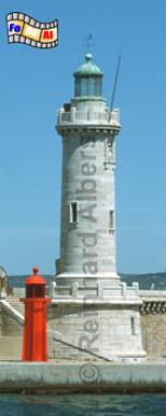 Marseille Hafeneinfahrt, Leuchtturm, Frankreich, Provence, Marseille
