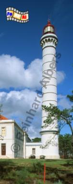 Vila Real de Santo António in der Algarve., Leuchtturm, Portugal, Algarve, Vila Real