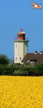Westermarkelsdorf auf der Insel Fehmarn., Leuchtturm, Deutschland, Schleswig-Holstein, Insel Fehmarn, Fehmarn, Westermarkelsdorf