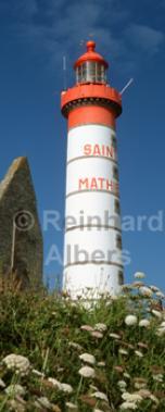 Pointe St.-Mathieu Bretagne - Frankreich., Leuchtturm, Frankreich, Bretagne, Pointe St. Mathieu