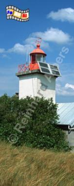 Pointe d'Agon in der Normandie, Leuchtturm, Frankreich, Normandie, Pointe d Agon