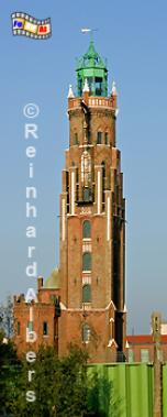 Bremerhaven - das Oberfeuer wird häufig auch nach dem Erbauer Simon Loschen