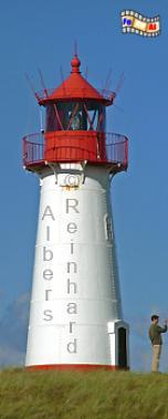 Insel Sylt, Ellenbogen (West)., Leuchtturm, Deutschland, Schleswig-Holstein, Nordseeküste, Insel Sylt, Sylt, Ellenbogen