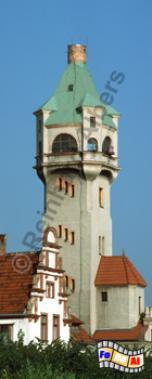 Der frühere Leuchtturm in Sopot (Zoppot) stand aus dem Jahr 1907., Leuchtturm, Polen, Ostseeküste, Sopot, Zoppot