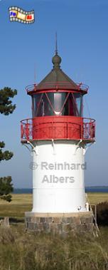 Leuchtturm Gellen auf der Insel Hiddensee., Leuchtturm, Deutschland, Mecklenburg-Vorpommern, Hiddensee, Gellen