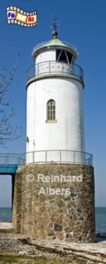 Helved auf der Insel Als (Alsen) in Dänemark., Leuchtturm, Dänemark, Insel Als, Alsen, Helved