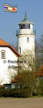 Im Norden der dänsichen Insel Alsen steht dieser Leuchtturm bei Augustenhof, Dänemark, Insel Alsen, Alsen, Als, Augustenhof