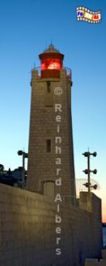 Nizza auf der Mole am Morgen., Leuchtturm, Frankreich, Côte, Azur, Nizza, Mole