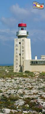 Portugal - Algarve Ponta da Sagres, Leuchtturm, Portugal, Algarve, foreal, Sagres, Ponta