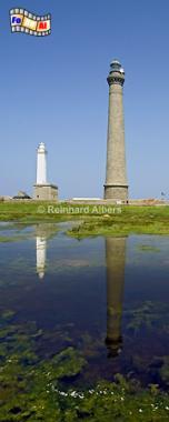 Auf der Île Vierge in der Bretagne befindet sich der höchste Leuchtturm Europas (82,5 m)., Bretagne, Leuchtturm, Phare, Île, Vierge, foreal, Albers