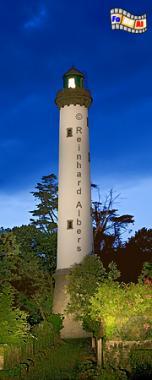 Bretagne, Bénodet, Bretagne, Leuchtturm, Phare, Bénodet, blaue Stunde, foreal, Reinhard, Albers