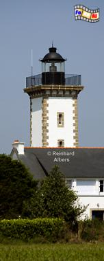 Bretagne: Phare La Lande im Département Côte d Armor., Bretagne, Leuchtturm, Phare, Lande, Albers, foreal, Foto