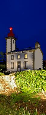 Bretagne, Pointe de Combrit, Bretagne, Leuchtturm, Phare, Pointe, Combrit, foreal, Reinhard, Albers, foreal