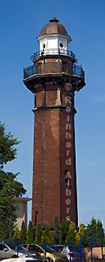 Polen - Gdansk Nowy Port (Danzig Neufahrwasser), Leuchtturm, Polen, Ostseeküste, Polska, Latarnia, Albers, foreal, Foto, Danzig, Neufahrwasser, Nowy Port