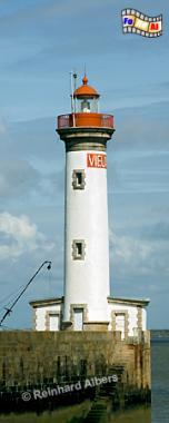 Frankreich - Loiremündung St. Nazaire Vieux Port, Leuchtturm, Frankreich, Loire, St. Nazaire, Vieux Port, Albers, foreal, Foto