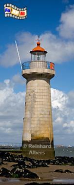 Frankreich - Loiremündung: Ville-es-Martin, Leuchtturm, Frankreich, Loire, Ville-es-Martin, Albers, foreal, Foto