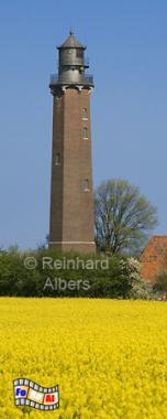 Schleswig-Holstein - Leuchtturm Neuland bei Behrensdorf an der Ostseeküste, Leuchtturm, Schleswig-Holstein, Neuland, Behrensorf, Ostsee, Albers foral. Foto