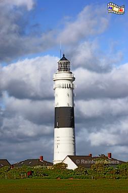 Insel Sylt - Leuchtturm von Kampen, auch