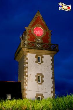 Phare de la Haize in Paramé (Bretagne)., Leuchtturm, Lighthouse, Phare, Albers, Foto, foreal, Paramé, Haize, Bretagne,
