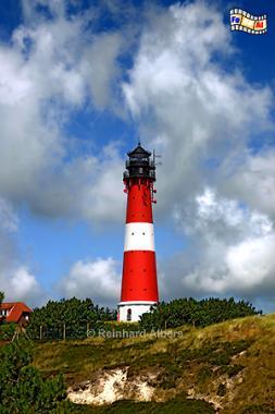 Hörnum im Süden der Insel Sylt., Leuchtturm, Lighthouse, Phare, Sylt, Hörnum, Foto, Albers, foreal,