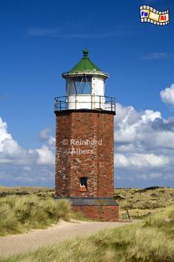 Quermarkenfeuer von Kampen auf der Insel Sylt., Leuchtturm, Lighthouse, Phare, Sylt, Quermarkenfeuer, Kampen, Foto, Albers, foreal,