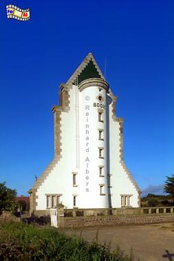 Bodic in der Nordbretagne., Leuchtturm, Lighthouse, Phare, Albers, Foto, foreal, Bodic, Bretagne,