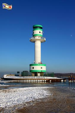 Der Leuchtturm von Friedrichsort markiert die schmalste Stelle der Kieler Förde., Leuchtturm, Lighthouse, Phare, Kiel, Friedrichsort, Förde, Albers, Foto, foreal,