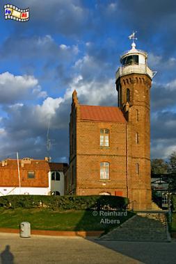 Ustka (Rügenwaldermünde) an der Ostseeküste in Polen., Leuchtturm, Lighthouse, Phare, Latarnia, Morska, Ustka, Albers, Foto, foreal,