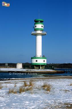 Kiel Friedrichsort in der Kieler Förde, Leuchtturm, Lighthouse, Phare, Kiel, Friedrichsort, Förde, Albers, Foto, foreal,