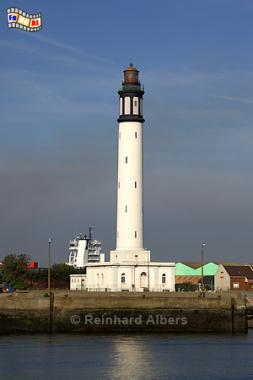 Frankreich - Dunkerque (Dünkirchen), Frankreich, France, Leuchtturm, Phare, Lighthouse, Dunkerque, Dünkirchen, Albers, Foto, foreal,