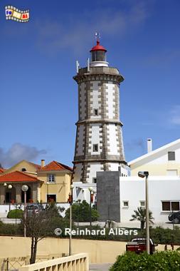Ponta da Laje an der Atlantikküste westlich von Lissabon., Leuchtturm, Lighthouse, Phare, Farol, Ponta da Laje, Guia, Portugal, Albers, Foto, foreal,