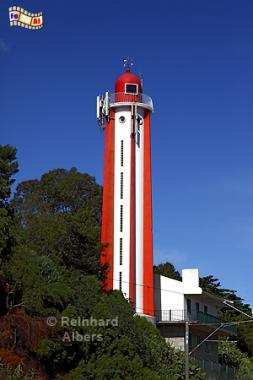 Portugal - Leuchtturm Gibalta an der Tejomündung bei Lissabon (Oeiras)., Leuchtturm, Lighthouse, Phare, Lissabon, Oeiras, Gibalta, Foto, foreal, Albers,